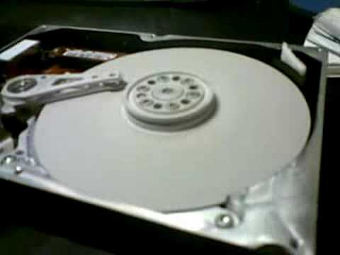 MAXTOR HDD CRASH TEST