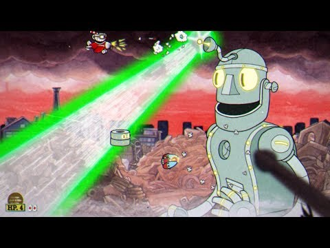 Cuphead: Dr Kahl's Robot Boss Fight #12