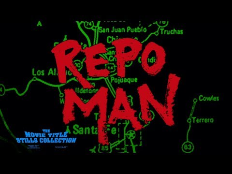 Repo Man (1984) title sequence