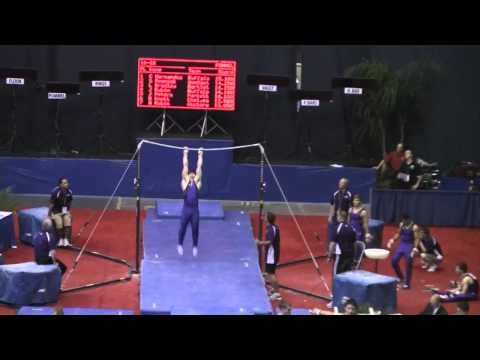 Gymnast Launches Off High Bar And Lands On His Head