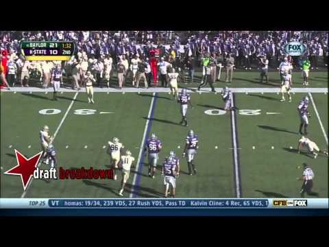 Jake Waters vs Baylor 2013 video.