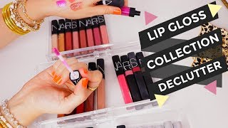 DECLUTTER | Getting Rid of Lip Glosses! by Danna Ann