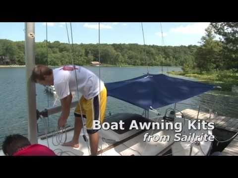 Boat Awning Kits - Demonstration