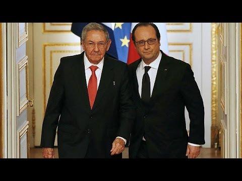 Κούβα-Γαλλία: Σύσφιξη σχέσεων με την υπογραφή σειράς συμφωνιών