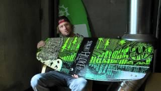 Mike Ennen Reviews The Slingshot Hooke Wakeboard 2012