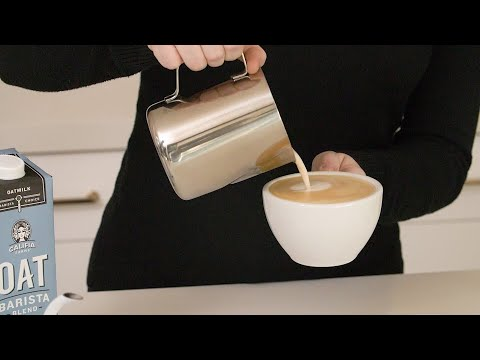 Oat Barista Blend How To Foam & Froth Home Brewed Coffee Video