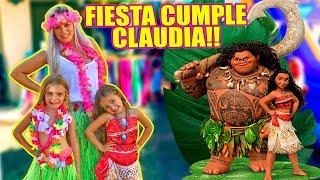 FIESTA CUMPLEAÑOS CLAUDIA VAIANA 🎉🎂🎁!! Itarte Vlogs