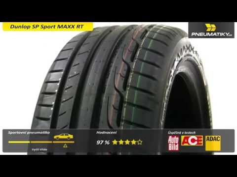 Youtube Dunlop SP Sport MAXX RT 225/50 R17 98 Y XL MFS Letní