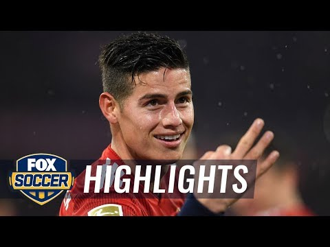 James Rodriguez gets his first hat trick for Bayern Munich | 2019 Bundesliga Highlights - Thời lượng: 2 phút, 9 giây.