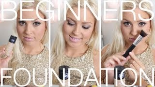Beginners Foundation ♡ Step By Step Foundation Routine - Beginners Week Basics - YouTube