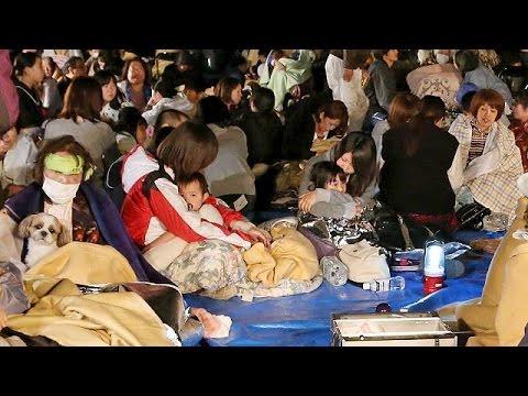 Ισχυροί σεισμοί «χτύπησαν» την Ιαπωνία