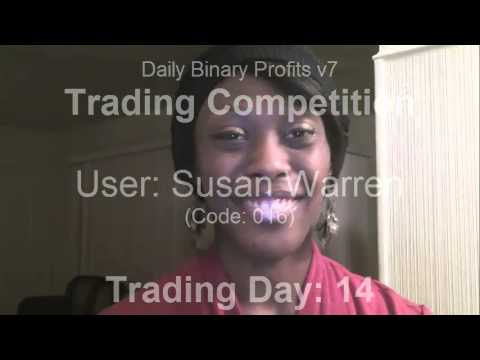 DBPv7 Binary Option Signals – Competitor Susan Warren