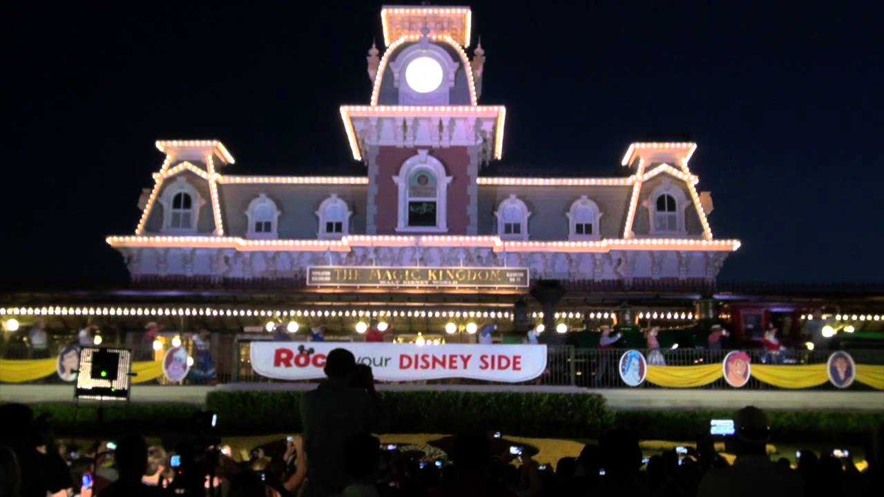 Rock Your Disney Side 24 hour event Welcome Show