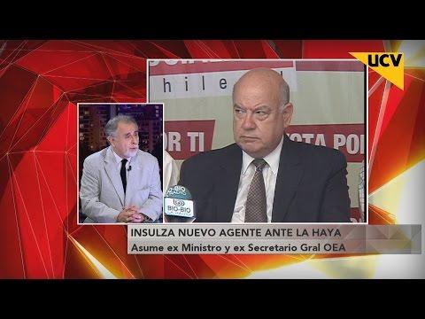 video Bulnes deja equipo jurídico chileno y asume José Miguel Insulza como nuevo agente ante La Haya