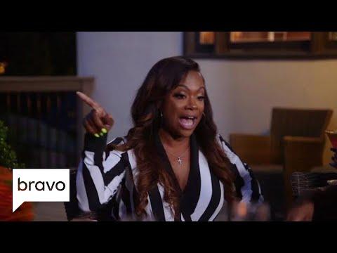 Fight Night: Kandi Burruss Confronts a Pregnant Porsha Williams | Real Housewives of Atlanta | Bravo