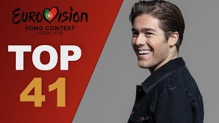 Video Eurovision 2018: top 41 songs so far (W/ comments) MP3, 3GP, MP4, WEBM, AVI, FLV Juni 2018