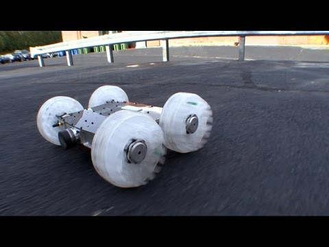 Sand Flea Jumping Robot From Boston Dynamics