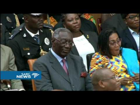 Nana Akufo-Addo sworn in as Ghana's president