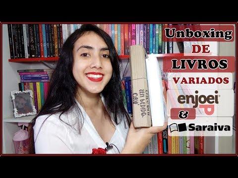 UNBOXING | Livros Variados Saraiva&Enjoei | Leticia Ferfer | Livro Livro Meu