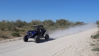10. Polaris RZR Turbo S Straight Piped! (Turbo Noise/ Exhaust Sounds)