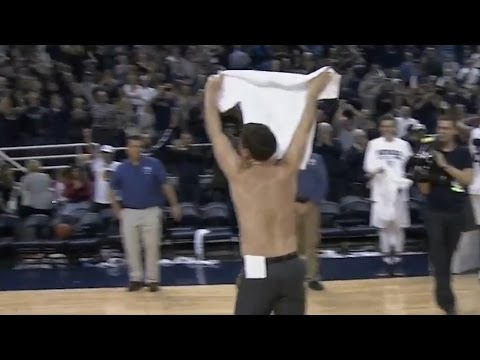 Nevada's Eric Musselman Shows Off His Muscles | CampusInsiders (видео)