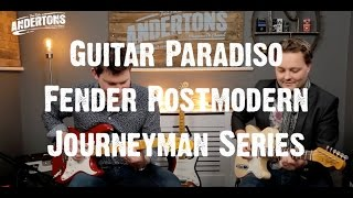 Video Guitar Paradiso - Fender Postmodern Journeyman Series - Mick & Pete Goes on a Journey Man... MP3, 3GP, MP4, WEBM, AVI, FLV Juli 2018