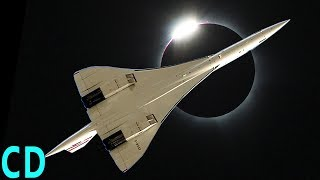 Video Eclipse 2017 - NASA Chasing the Shadow at 50,000 ft   Concorde 1973 MP3, 3GP, MP4, WEBM, AVI, FLV September 2018