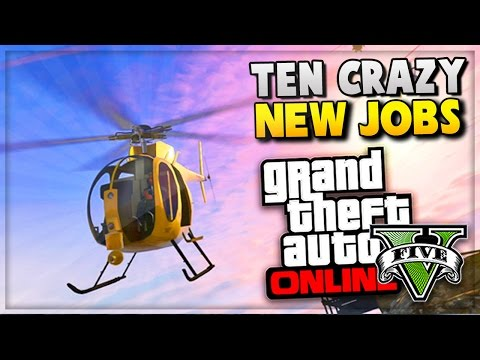 GTA 5 Online – NEW Missions/Jobs Rockstar Verified GTA Online Games! (Grand Theft Auto V)