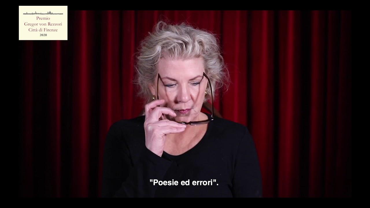 Premio Gregor von Rezzori – Città di Firenze XIV primo giorno: Jennifer Clement, Poesie ed errori