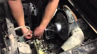 8. DURACLUTCH install on Yanmar Diesel Polaris RANGER