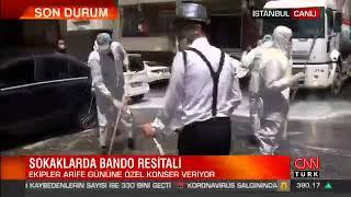 Gaziosmanpaşa Belediyesi Ve Eyüp Belediyesi Ortak Sokak Temizleme Çalışması - Cnn Türk