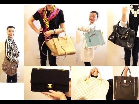 designer handbag collection o2gc  Designer Bag Collection: Prada, Louis Vuitton, Michael Kors, Marc Jacobs,  Coach 3gp, mp4 download : fromyoutube