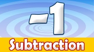 Subtraction -1 Song for Kids, Math Song