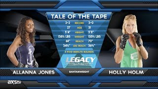 Video Fight of the Week: Holly Holm With a Brutal Head Kick KO at Legacy 21 MP3, 3GP, MP4, WEBM, AVI, FLV Desember 2018
