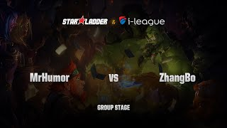 ZhangBo vs MrHumor (逗小姐), game 1