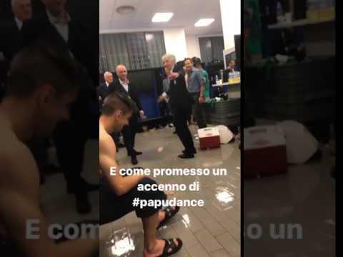 Gasperini balla come il Papu Gomez: Europa dance!
