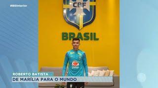 Atleta de escolinha de futebol de Marília é convocado para seleção sub-15