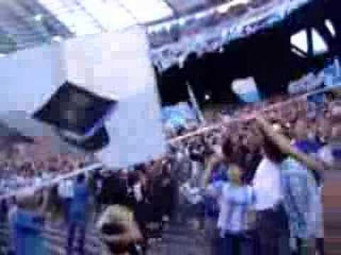 Video - Fiesta de la hinchada de Racing - La Guardia Imperial - Racing Club - Argentina