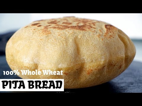 100% Whole Wheat Pita Bread | Hummus | Falafel | Balela Salad | Tzatziki Sauce | Instant Pot
