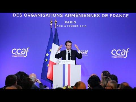 """Γαλλία: Η 24η Απριλίου """"μέρα εθνικής μνήμης της γενοκτονίας των Αρμενίων""""…"""