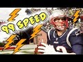 Would Tom Brady Score Every Time If He Had 99 Speed? Madden 19 Challenge