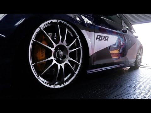 500HP FROM 4 CYLINDERS - 500HP APR Tuned Golf 7 R