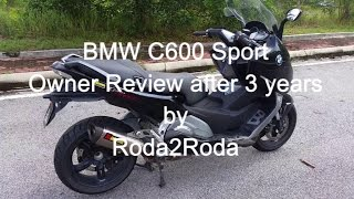 2. BMW C600 Sport Owner Review Three Years On