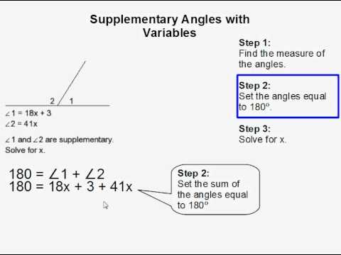 Alternate Corresponding And Supplementary Angles Worksheet