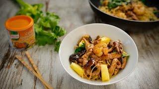 Tempere o camarão com piripiri e o molho soja