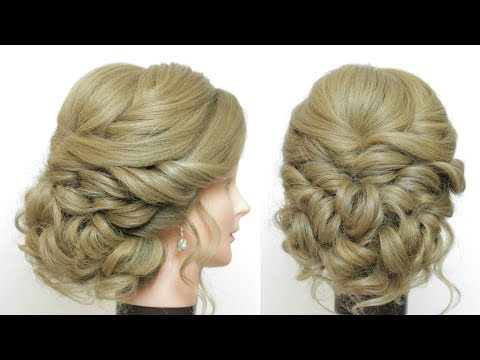 Hairstyles for long hair - Soft Updo Tutorial. Prom Wedding Hairstyles For Long Medium Hair