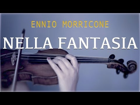 Nella Fantasia (Gabriel's Oboe) - for violin and piano (COVER)