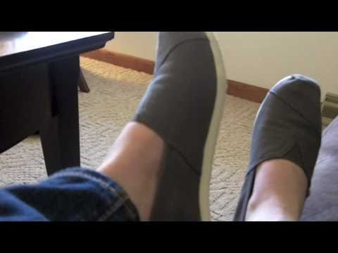 TOMS Shoes - This is my unboxing and review of the TOMS Shoes. Thanks for watching! Please Comment, Rate and Subscribe! I purchased these with my own money. I am in no wa...