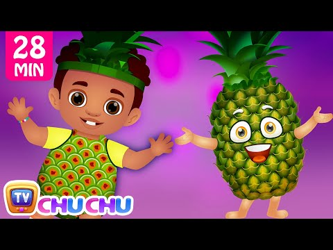 Pineapple Song | Learn Fruits for Kids and More Original Learning Songs & Nursery Rhymes | ChuChu TV
