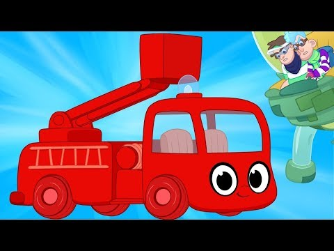 My Red Fire Truck & The Glue Bandits!   My Magic Pet Morphle #49